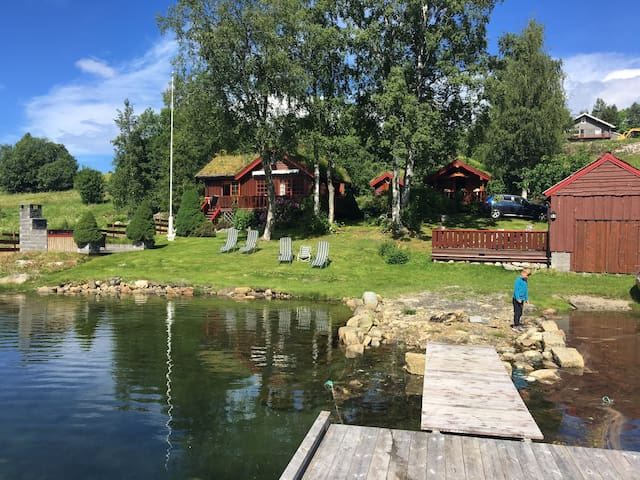 Fantastic summer house by the fjord inc boat hire