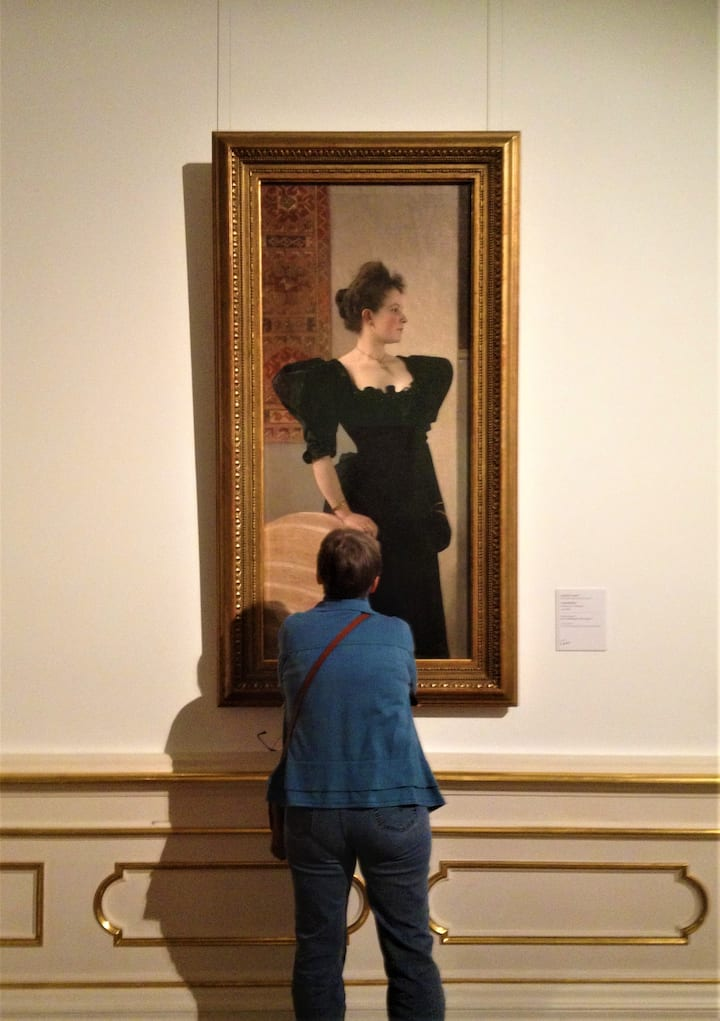 From early Klimts to  his 20th c. art