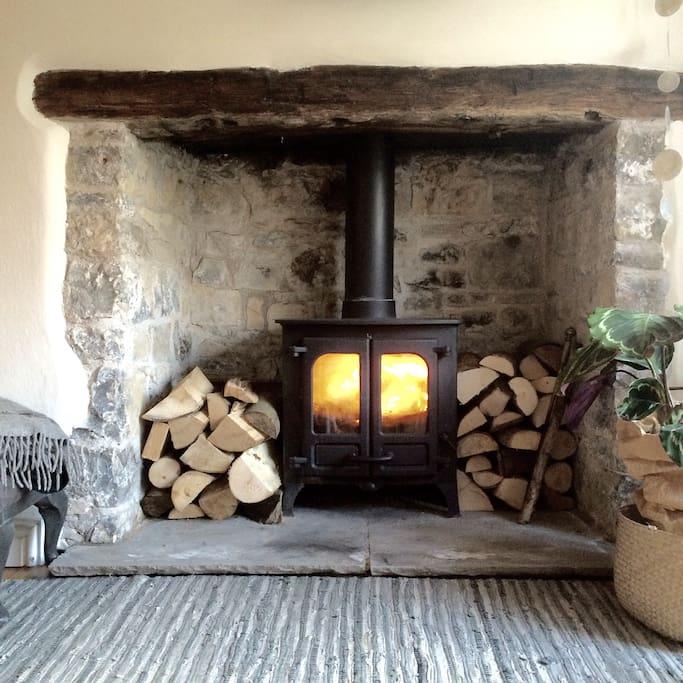 Cozy Log Fires