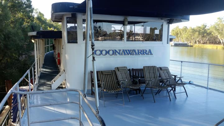 The paddle Boat Coonawarra
