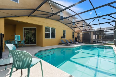 Large House   Near Disney   Private Pool   6 beds