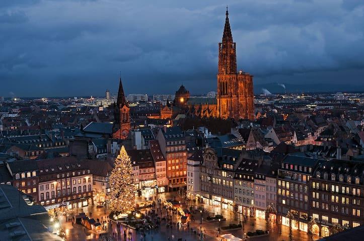 Strasbourg esplanade université - Estrasburg - Pis