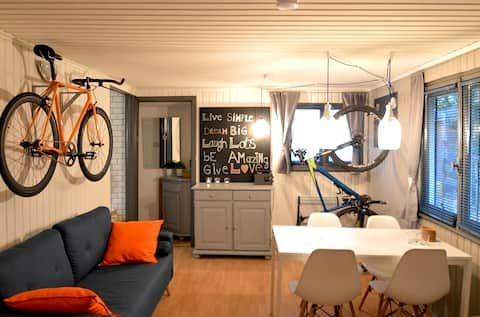 Cozy recently redecorated chalet near Durbuy