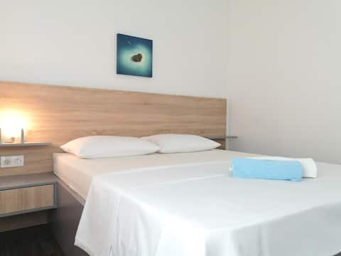 A Budget Room with Private Bathroom (Island Krk)
