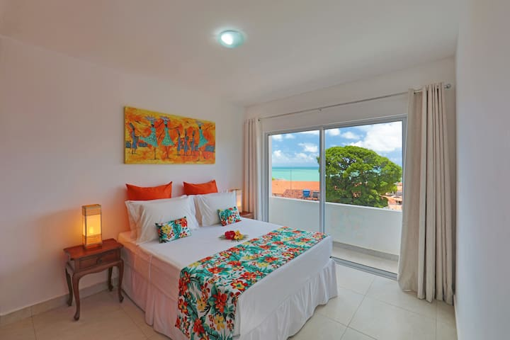 Pipa Centro Residence, 2 Bedroom, Ocean View