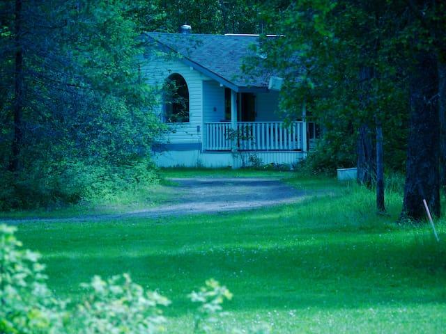 Eagle Moon riverside cottage