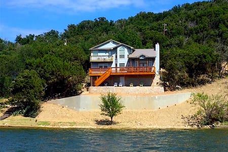 Great Waterfront Home w/Wifi  on P. K. Peninsula!