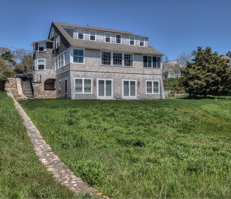 Enjoy the quaint seacoast village of Hyannis Port from this 4-bedroom, 3 bathroom vacation rental house on Cape Cod