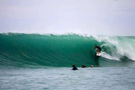 Seaside Surfcamp in front of best world waves!!! - South Nias Regency