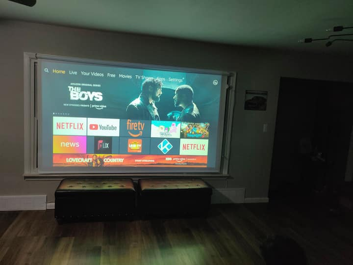 Your personal movie theater