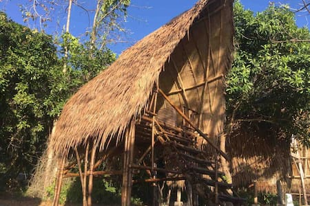 Isla - Elevated Basic Bamboo Hut with Seaview 2