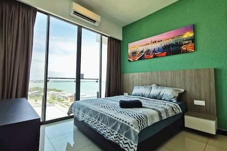 PD D'Wharf Residence - Amazing Seaview Up to 6 pax