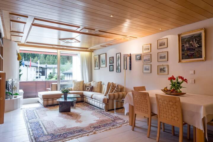 Luxurious 2.5 Room Hotel-Apartment - Laax - Appartamento