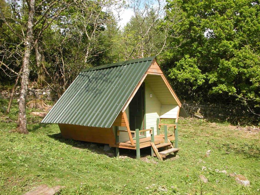 Camping pent hoose ash sleeping 2 people only h tten zur miete in plockton vereinigtes - Lino 5 metre de large ...
