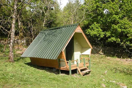 Glamping Pent Hoose (Ash) Sleeping 2 people only - Plockton
