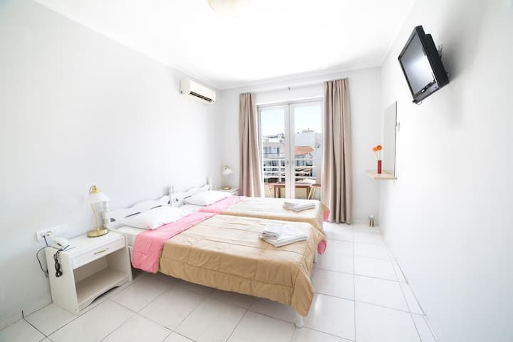 Twin/Double Room at the heart of the Chania center