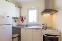 Fully equipped groundfloor kitchen by the ensuites