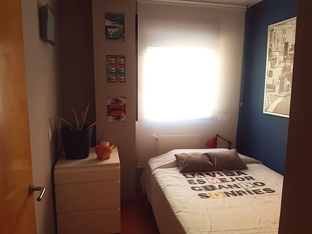 Twin room in Torrejón. Near Alcalá university. - Torrejon de Ardoz - Apartamento