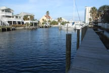 View from Boat Dock looking East