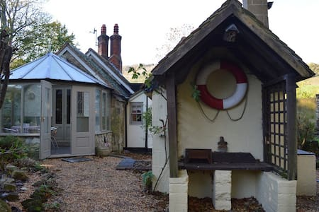 Chocolate Box Lodge on a private country estate - Shanklin