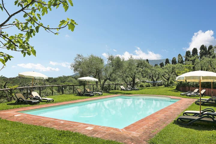 House CastorePolluce in large property with pool