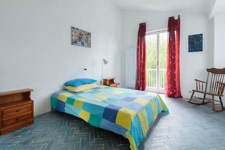 Double room with view on the lake Nemi near Rome - Nemi