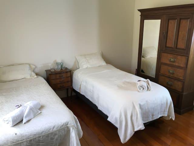 Room C. Comfortable, Clean, safe & secure, quiet.