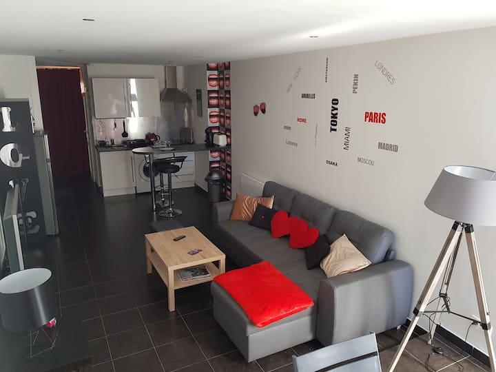 Beautifull flat 35 m²- Naturist Village Cap d'Agde
