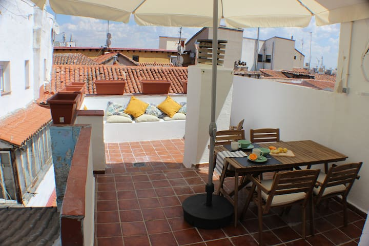 ❤PENTHOUSE BEST TERRACE IN CHUECA-Free Cancelation