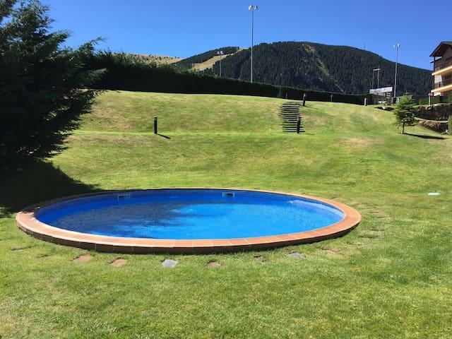 Mágico Apto. Conecta con la montaña - La Molina - Huoneisto