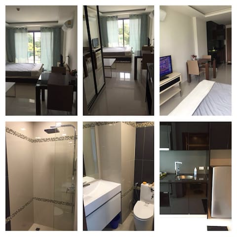Совершенно новая квартира в 50 моря - Паттайя - Appartement