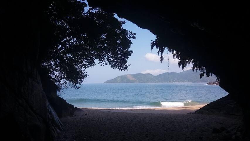 Casa da praia do Lázaro