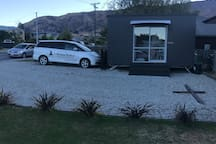 A beautiful Wanaka evening, just a 200m walk to the lakefront cafes and restaurants.