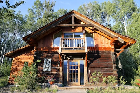 Log Cabin on the HayDuke Ranch