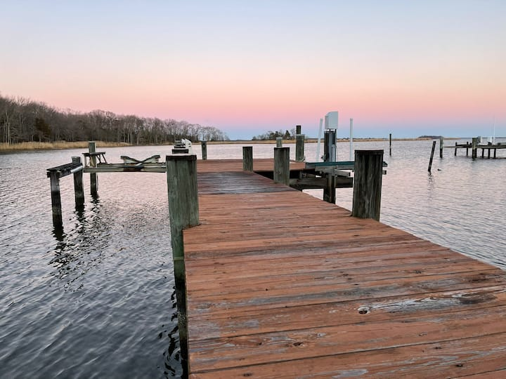 Chesapeake Bay Getaway | New Waterfront with Pier!