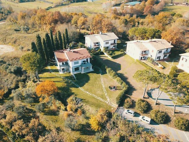 Lake Garda view - Cottage Colle degli Ulivi