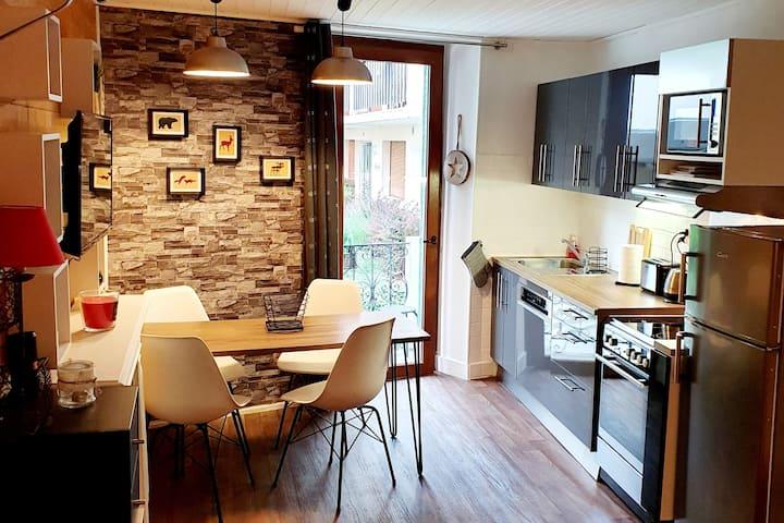 charmant appartement  rénové 200 m des thermes