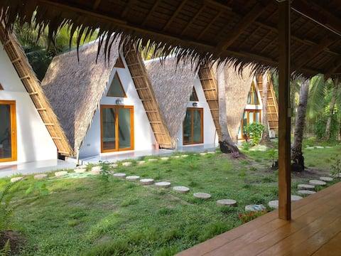 ASANA - A-frame Cabins in Pacifico Siargao