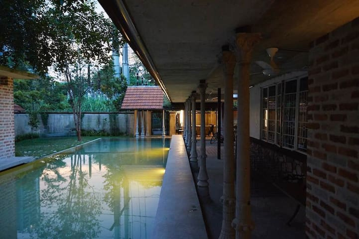 Nature Inspired House with Pool in KL