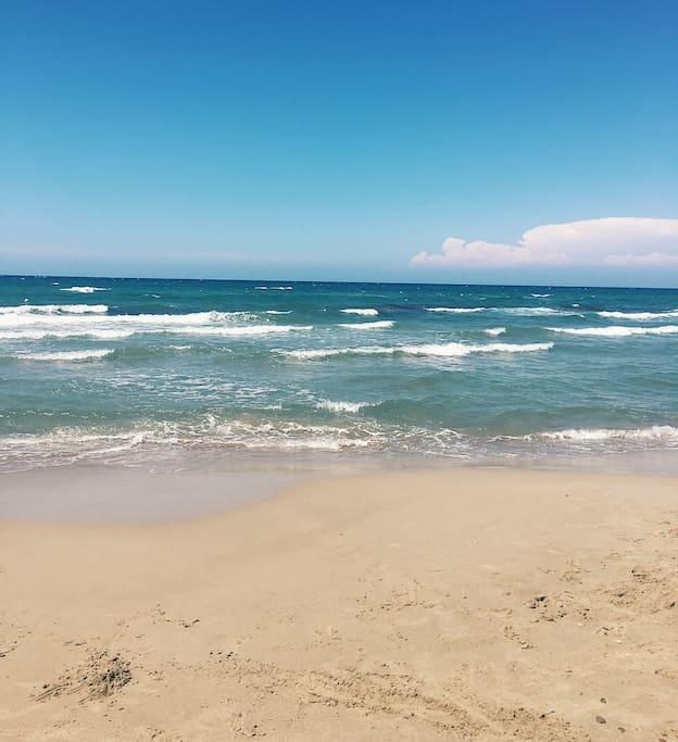 Mare 800mt da casa / Sea half a mile away from home