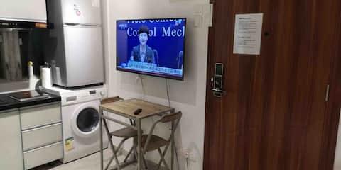 NEW FITOUT STUDIO PRIVATE BATHROOM KITCHEN MTR