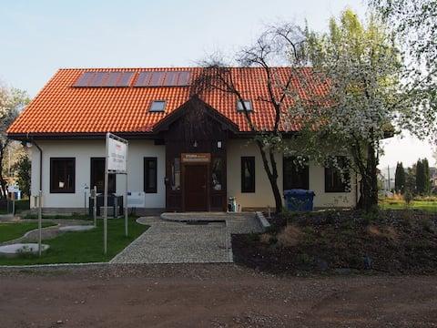 ekologiczny, rodzinny Eko -domek przy stawach ...