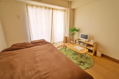 10 min walk Niigata Sta!(Free Wi-Fi)Cozy1room[411]