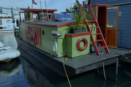 Sugar Shack Houseboat on Lake Union - Seattle - Boot