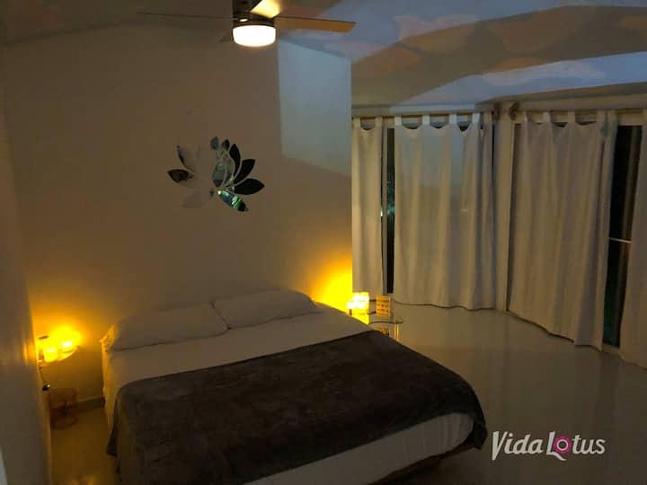 Ocean View King Suite at Vida Lotus Retreat & Spa