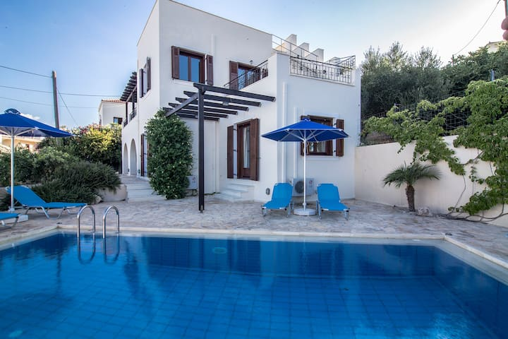 Pool Villa, Cretan Colour, Almyrida Bay View