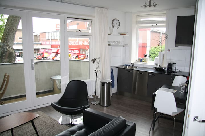 Cozy & comfortable balcony apartment in Utrecht