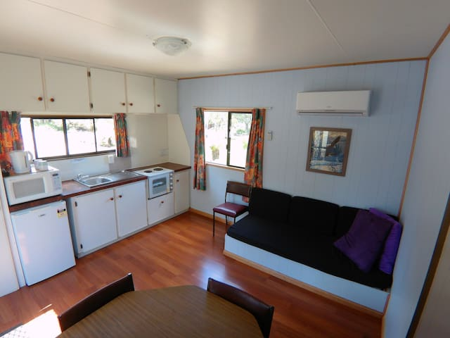 Zeehan Bush Camp and Caravan Park- Cabins