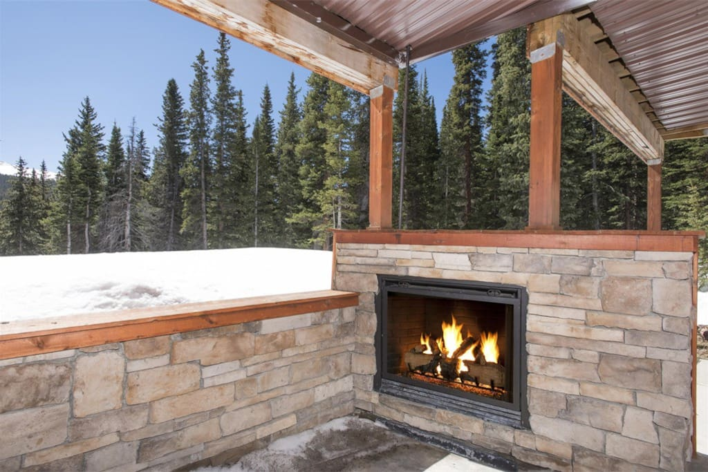 Colorado Room Fireplace