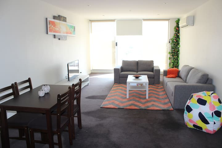 Clean & Peaceful Place Close to City - Footscray - Daire